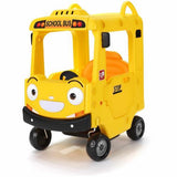 YAYA Push Ride on Tayo School Bus for Kids | Ride On Toddler Push Car - rafplay