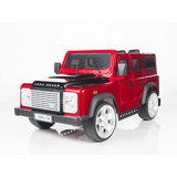 Raf Licensed Land Rover Defender Painted Shine Body 12v Children Ride On Car - rafplay