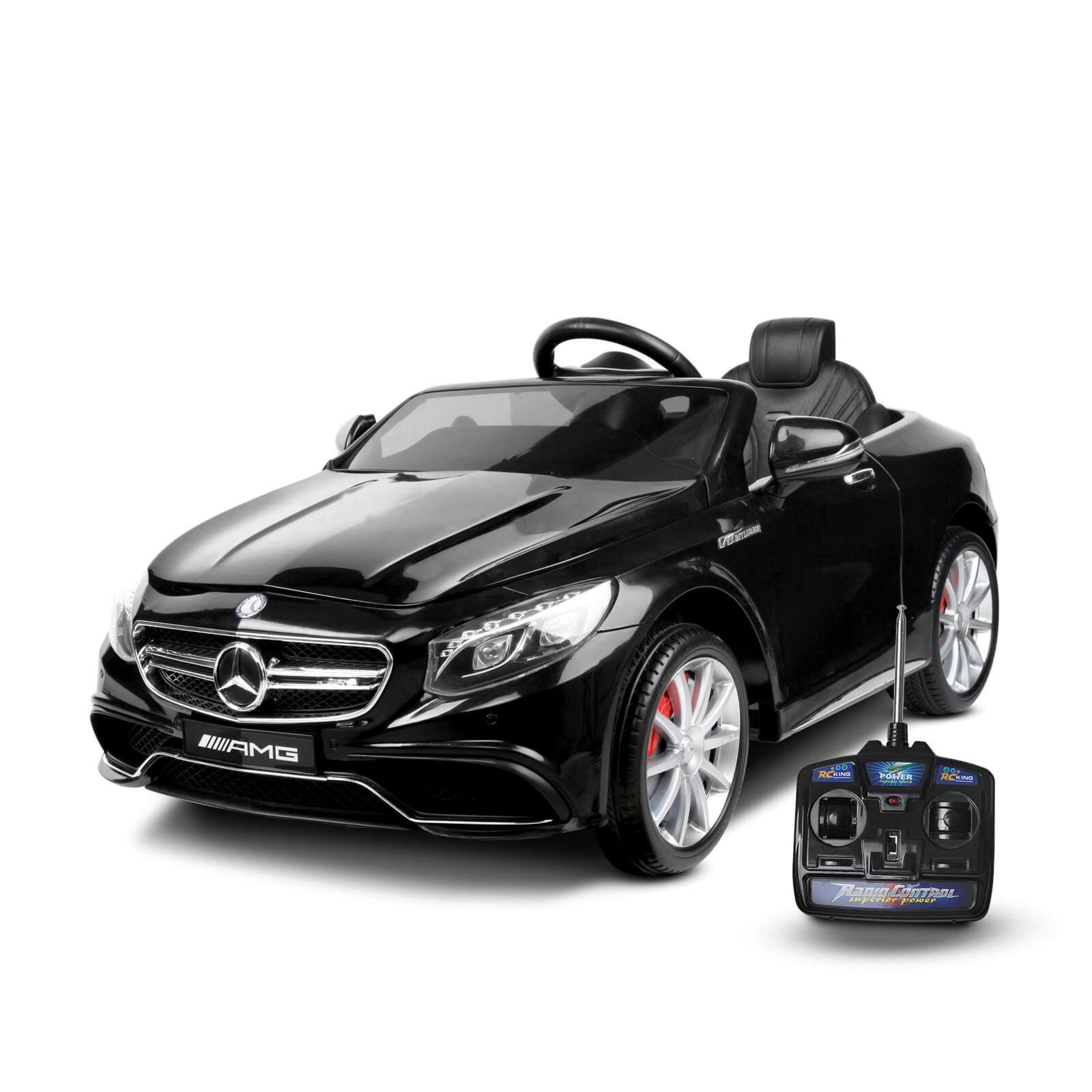 Raf Electric Licensed Ride On Premium Edition Mercedes Benz SLS AMG 12v for kids - rafplay