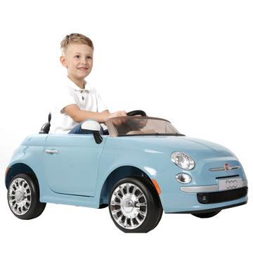 Raf Premium Fiat Collection licensed ride on 500 for kids - rafplay
