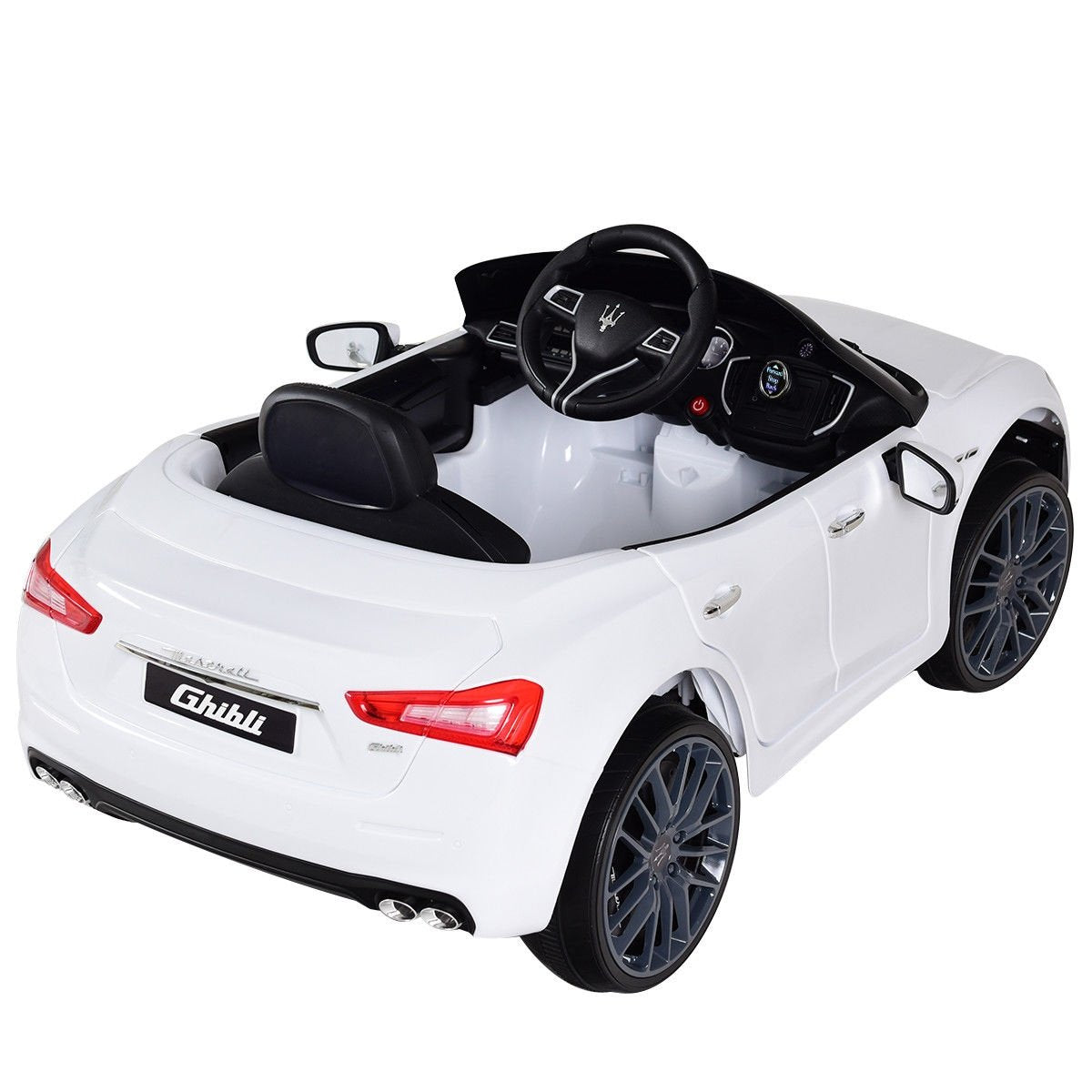 Raf Veritable Ride on Licensed 12 v Maserati GranTurismo Sports Edition for kids - rafplay