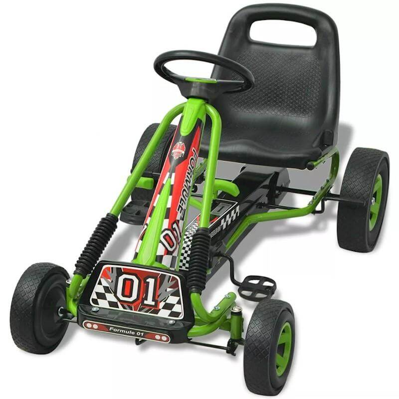 Raf Kids Racing Pedal Go kart Ride on for kids - rafplay