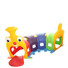 The Long Caterpillar  Kids Tube Tunnel - rafplay