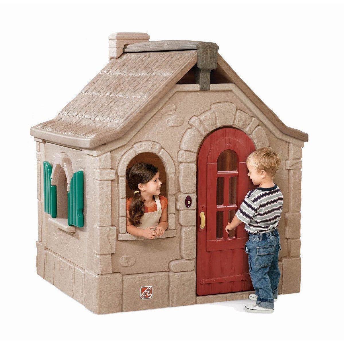 Snug & Cushy Cottage Toy Playhouse - rafplay