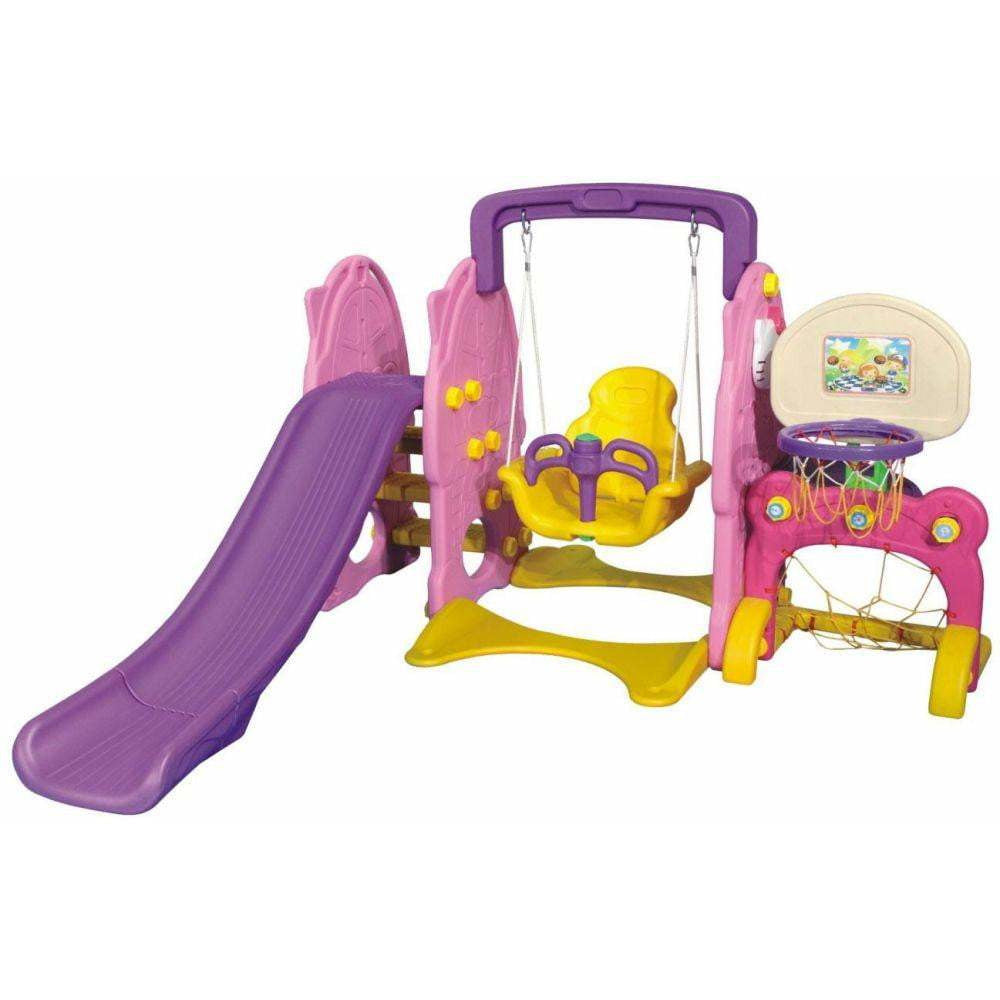 Colorful 3 In 1 Play Park For Juniors - rafplay