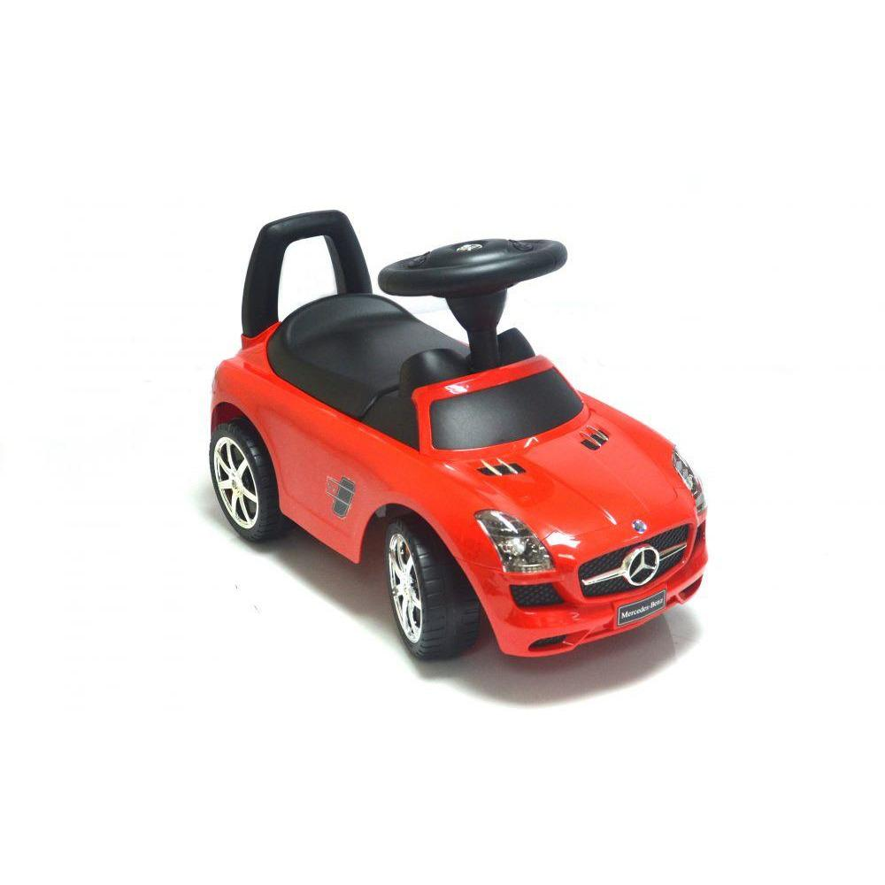 Rafplay  Licensed MERCEDES PUSH Ride On  CAR FOR KIDS With Storage Trunk - rafplay