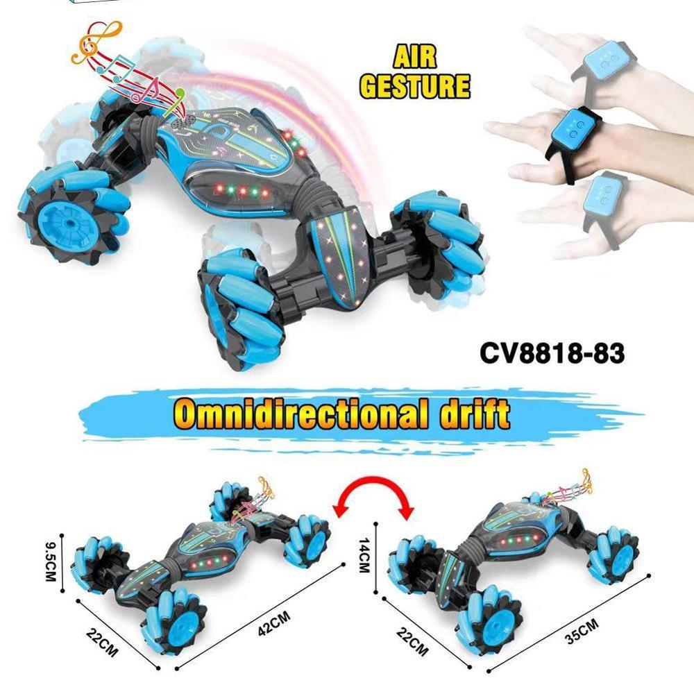 GESTURE CONTROLLED DOUBLE-SIDED REMOTE CONTROL CAR