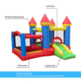 Megastar Inflatable  Jumping Bouncer Castle Slider Trampoline  with Air Blower