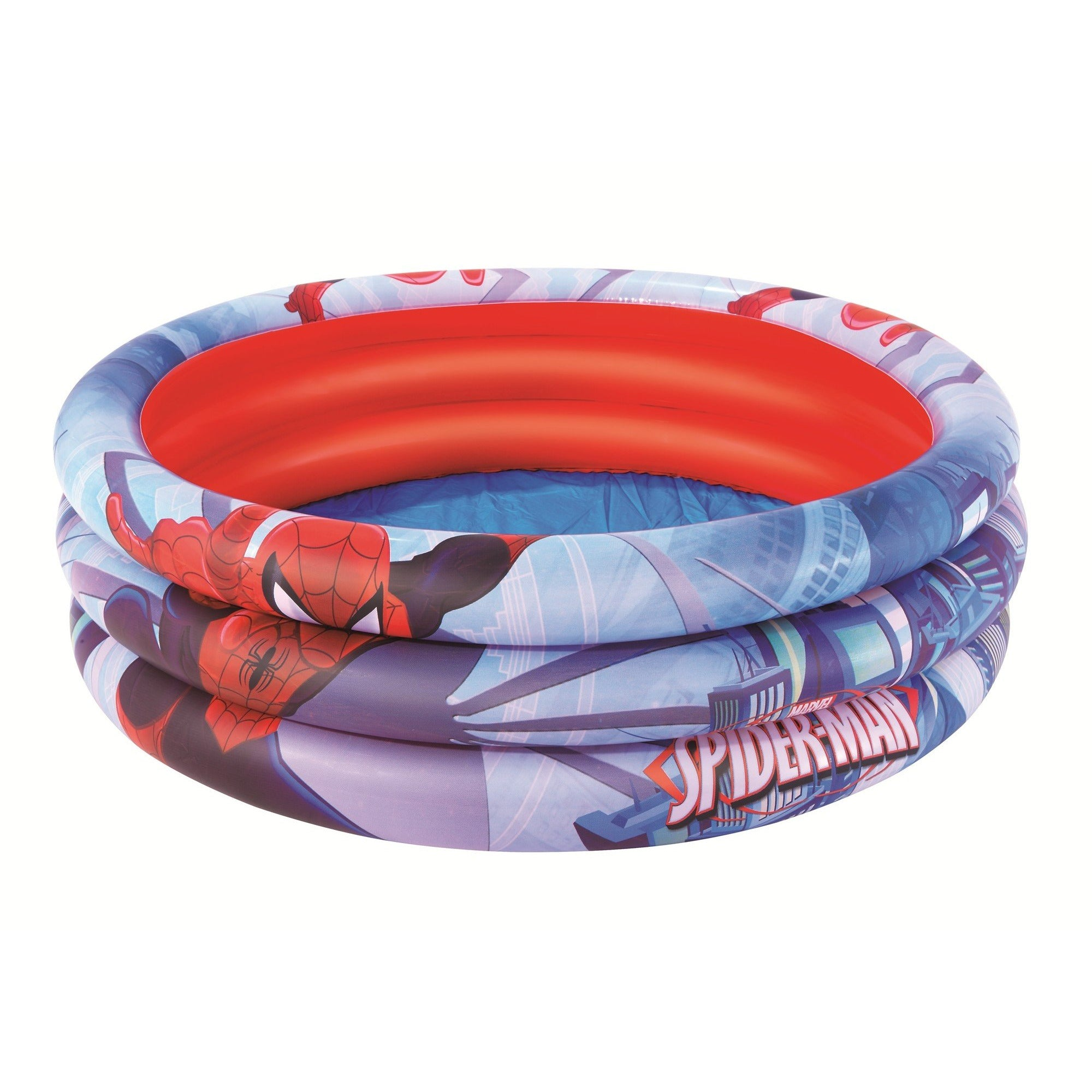 Bestway Ultimate Spiderman 3 Ring Inflatable Kids Pool