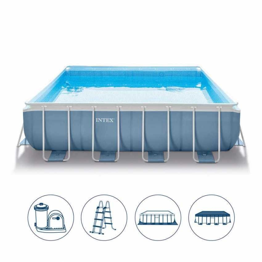 Intex Above Ground Pool Square 488x488cm