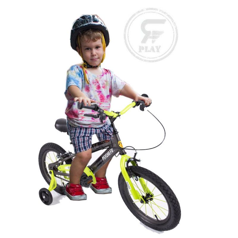 "MEGAWHEELS 14"" Fury Fox Kids Shaded BICYCLE With Training wheels ASSORTED"
