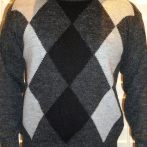 ARGYLE Alpaca Jumper--- save $50!