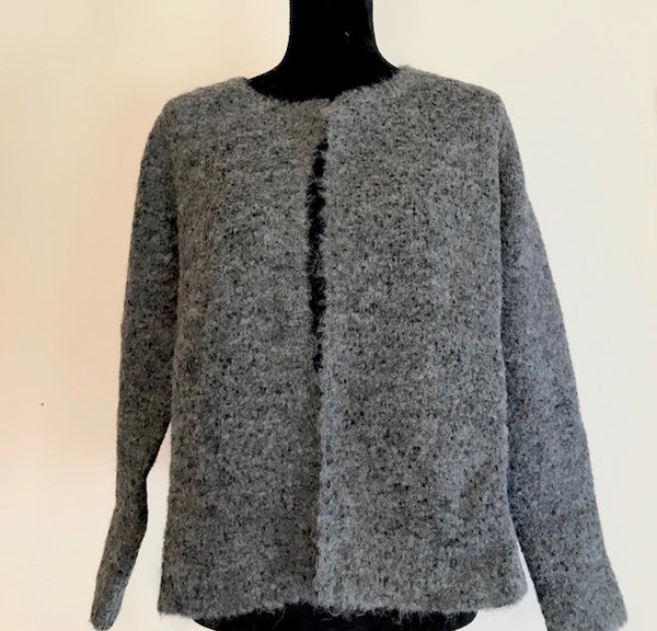 LAURA Pure Alpaca Cardigan/Top