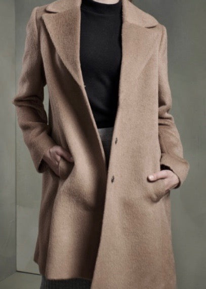 Madore -- gorgeous luxury pure elite Alpaca coat
