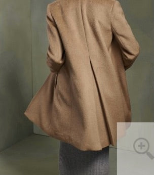 Madore -- gorgeous luxury pure Alpaca coat --- and save a huge $250!!