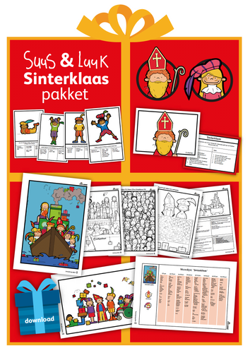Suus & Luuk Sinterklaaspakket (download)