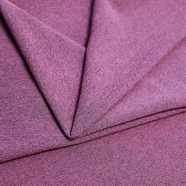 A folded piece of Blast Textured Spandex in famous purple