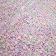 Foil on net polyester