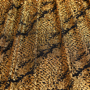 Dancing Snake Glitter Stretch Mesh