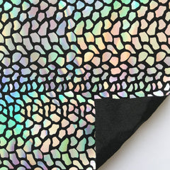 Dragon Scales Holographic Spandex Sequin