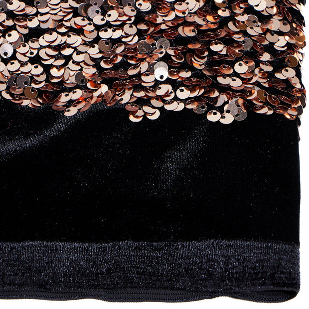 Duchess Stretch Velvet Sequin