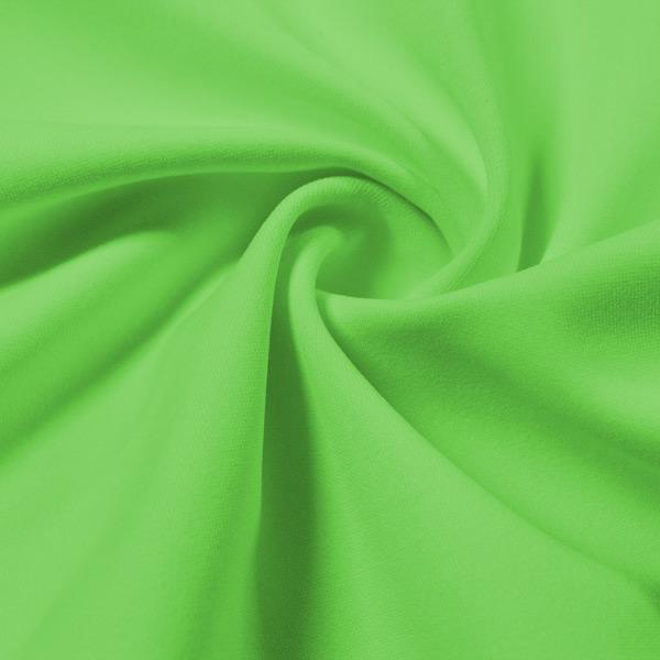 A swirled piece of Energize Activewear Nylon Spandex in the color fresh.
