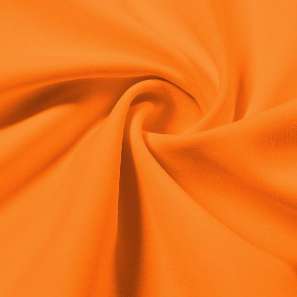 A swirled piece of Energize Activewear Nylon Spandex in the color goldfish.