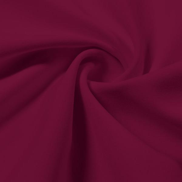 A swirled piece of Energize Activewear Nylon Spandex in the color mulberry.