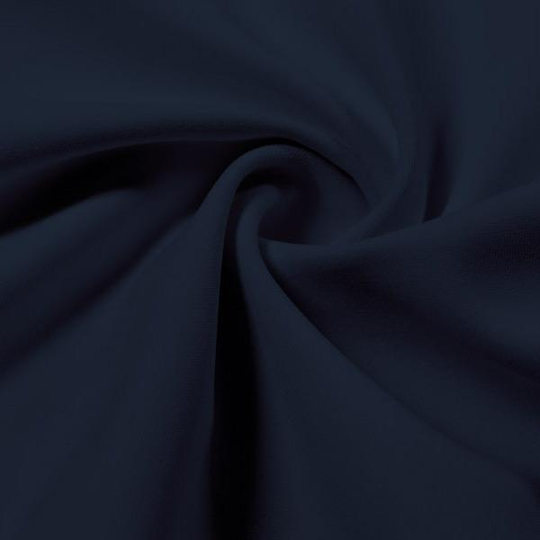 A swirled piece of Energize Activewear Nylon Spandex in the color navy nights.