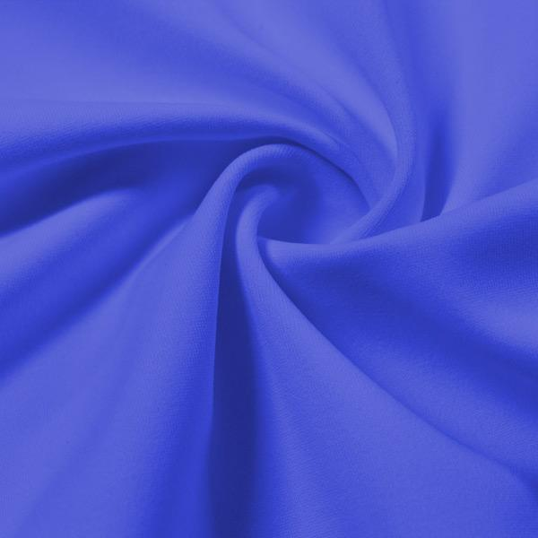 A swirled piece of Energize Activewear Nylon Spandex in the color periwinkle.