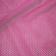 A flat sample of forte flair mesh in the color magenta.