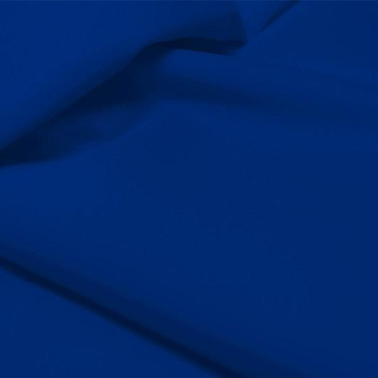 A flat sample of allure polyester spandex in the color royal.