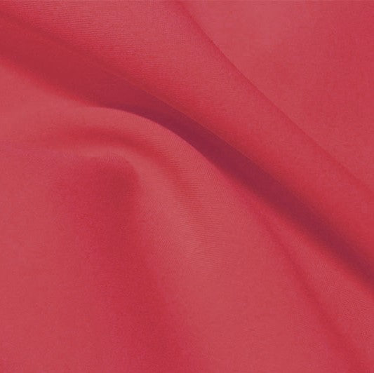 A flat sample of flexfilt recycled polyester spandex in the color sugarlily.