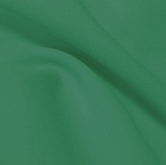 A flat sample of flexfilt recycled polyester spandex in the color wellness.