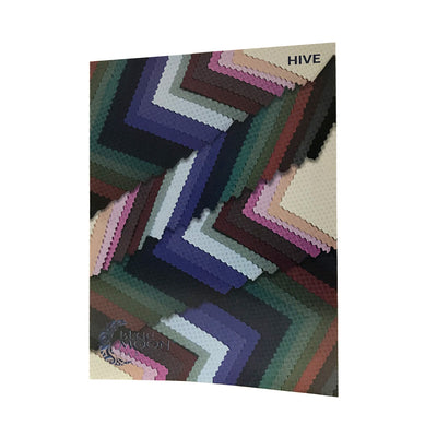 Hive Textured Spandex Color Card