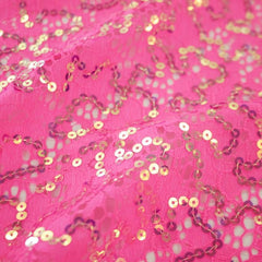 Material Girl Stretch Lace Sequin