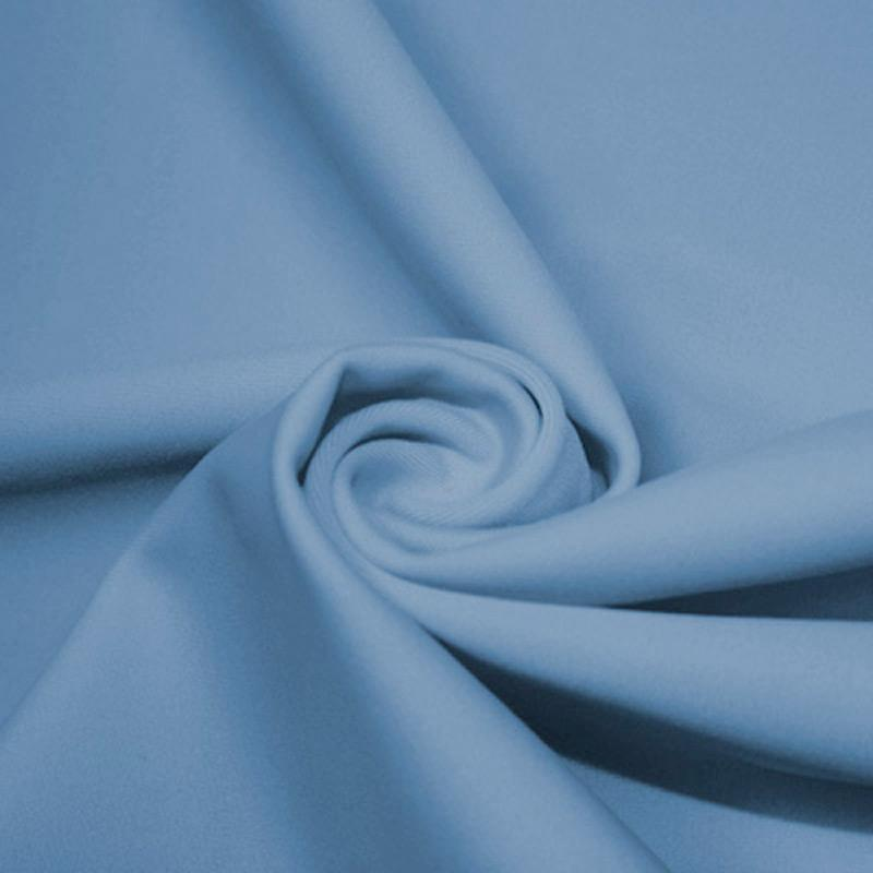 A swirled piece of microfiber nylon spandex in bouquet.