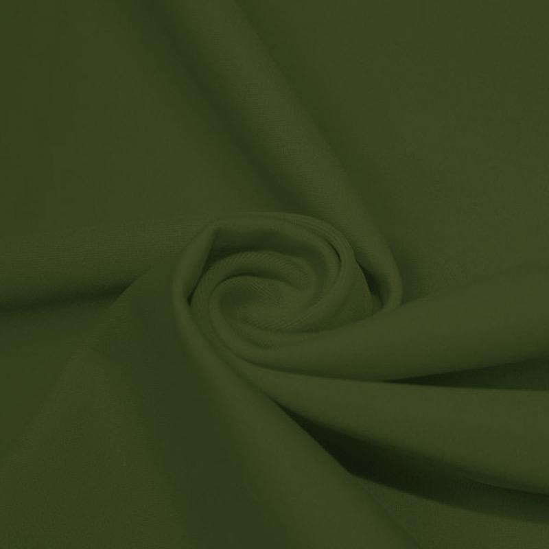 A swirled piece of microfiber nylon spandex in sage.
