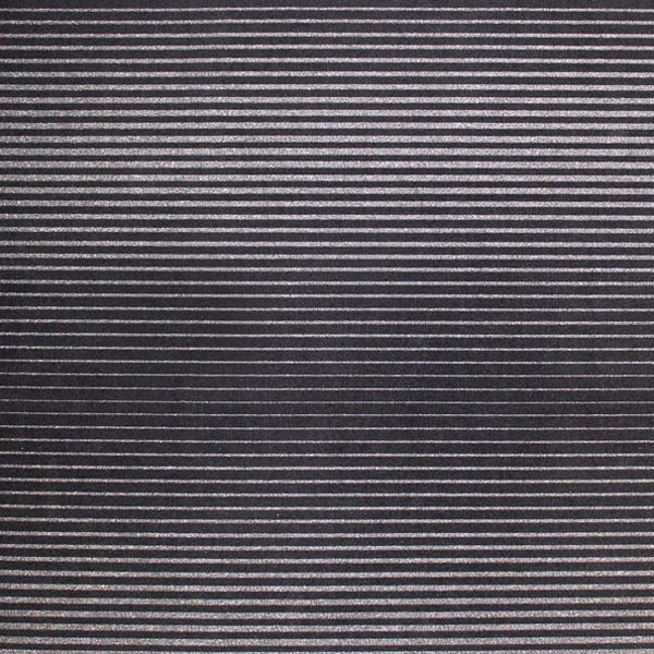 A flat sample of Wavy Navy Pinstripe Printed Spandex.