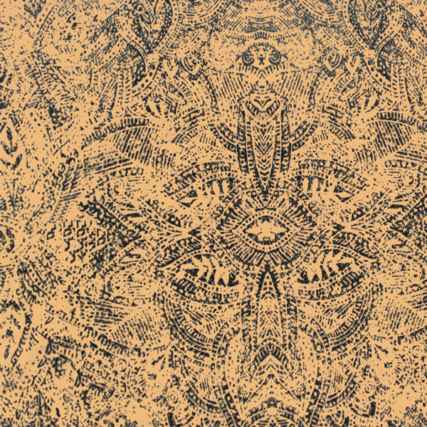 Earth Tone Tribal Printed Spandex
