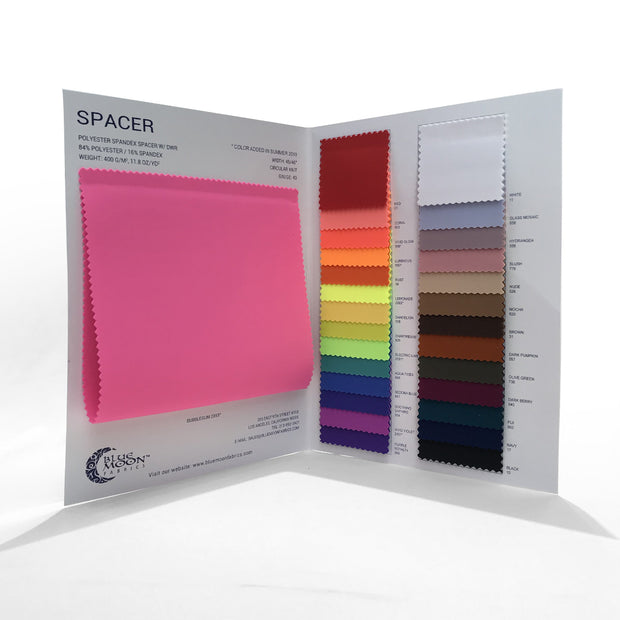 Spacer Scuba Knit Color Card
