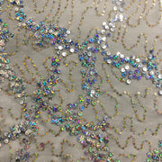 Avant Garde Stretch Mesh Sequin