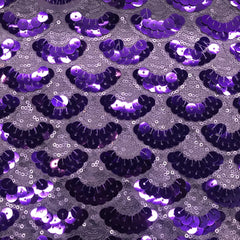 Burlesque Stretch Mesh Sequin