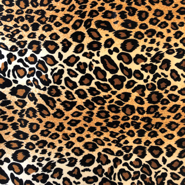 Safari Printed Stretch Velvet