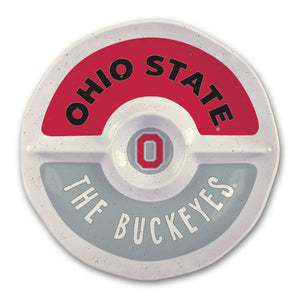 Ohio St Melamine Chip & Dip