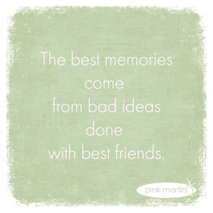 Best Memories Beverage Napkin - The Red Hound Gifts