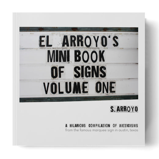 El Arroyo Mini Book of Signs Vol 1 - The Red Hound Gifts