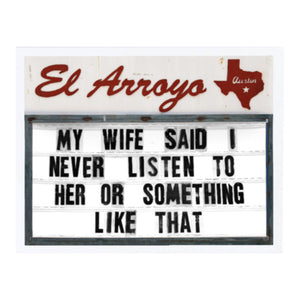 El Arroyo Mini Book of Signs Vol 2