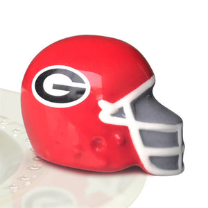 Nora Fleming UGA Helmet Mini