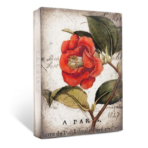 T404 Red Camellia - The Red Hound Gifts